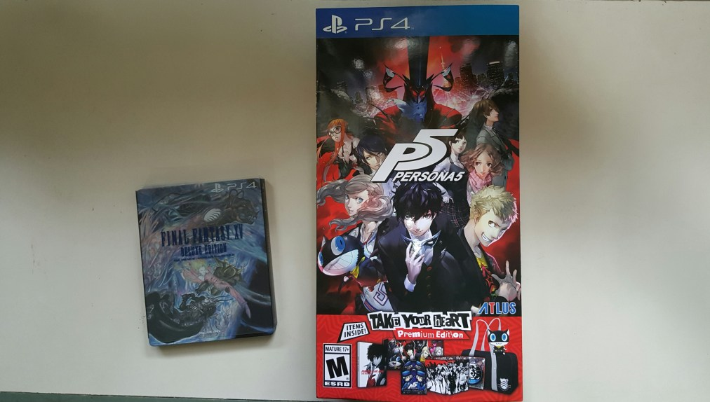 Limited Editions: Persona 5 Take Your Heart Premium Edition vs Final Fantasy XV Deluxe Edition