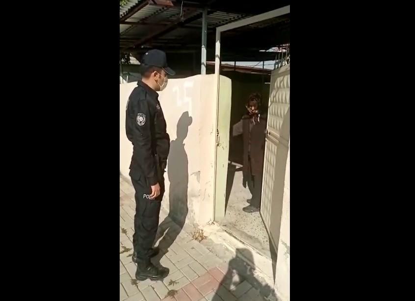 Kimsesiz ninenin kışlık yakacağını polis taşıdı