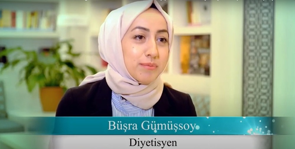 """Diyetisyen Büşra Gümüşsoy: """"Günümüzde maalesef çok yanlış diyet programları uygulanmaktadır"""""""