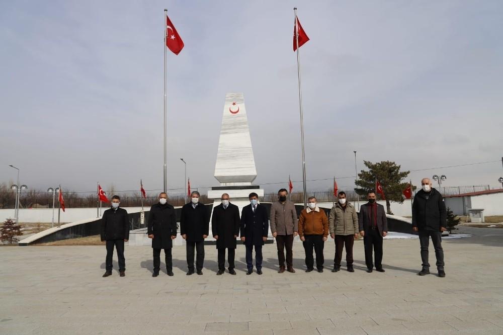 Erzincan Belediyesi Gara şehitlerini andı