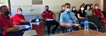 Erzincan Kemah İlçe Hastanesi'nde HAP masa başı tatbikatı gerçekleştirildi