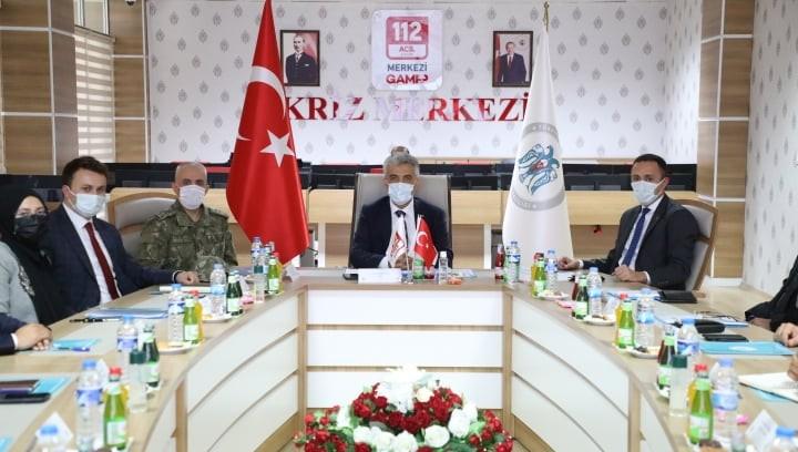 Erzincan'da Asayiş Koordinasyon, Kaymakamlar ve İl Müdürleri toplantıları yapıldı