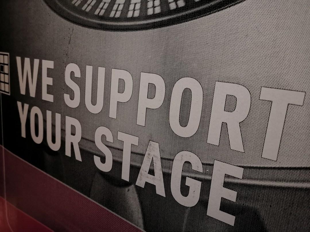 Bax verpakkingsdoos We support your stage