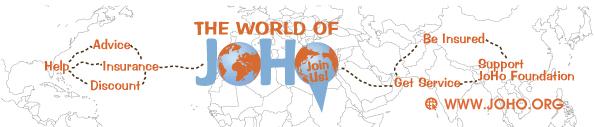 In de World of JoHo sluit je eenvoudig een voordelige en duurzame doorlopende reis- en annuleringsverzekering af.