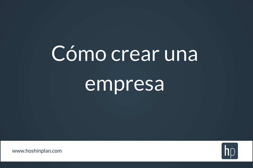 Crear empresa