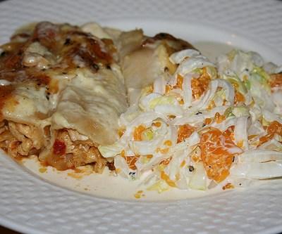 Enchiladas met kip zelf maken