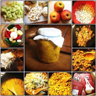 Recept zelf piccalilly maken
