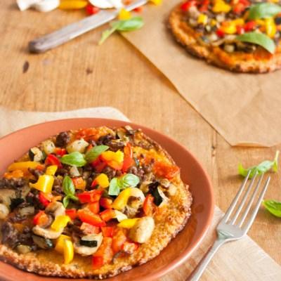 Es bakte een Paleo Pizza