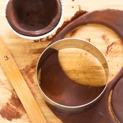 Recept voor zoete chocolade taartdeeg