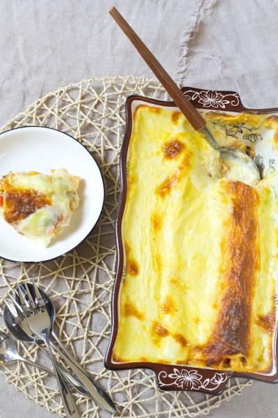 Enchilada's met kip en groenten recept