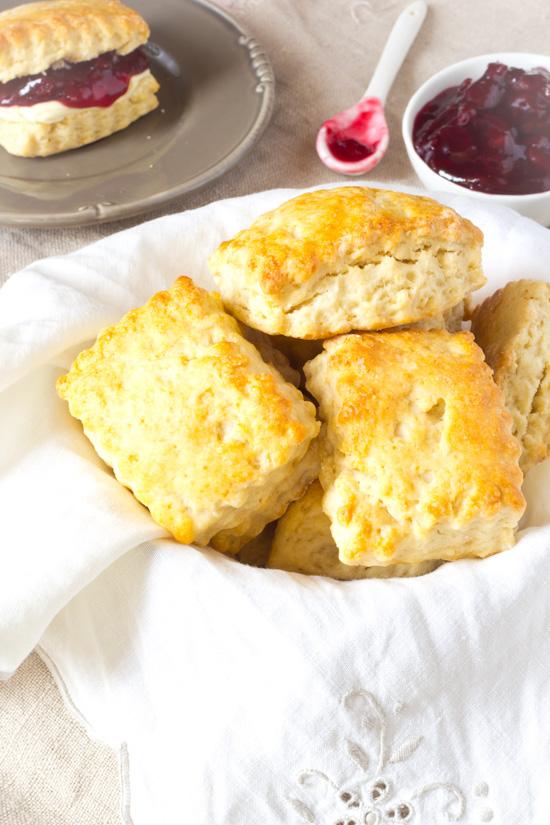 Standaard scones recept