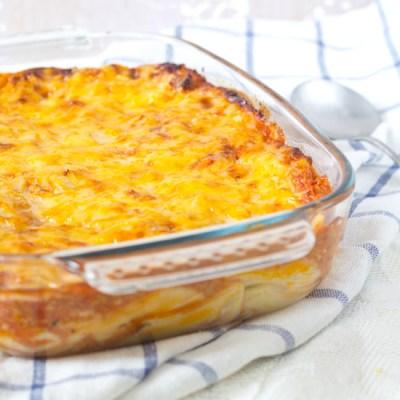 Ovenschotel met pasta recept