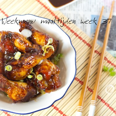 Weekmenu maaltijden week 37