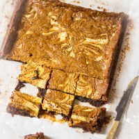 Gemarmerde roomkaas brownies recept