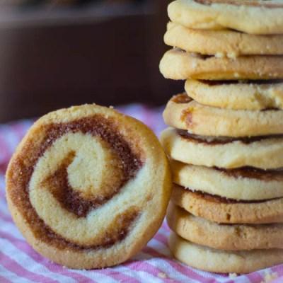 Opgerolde kaneel koekjes cinnamon swirls