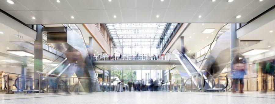 E+S Kassensysteme - Einkaufszentrum
