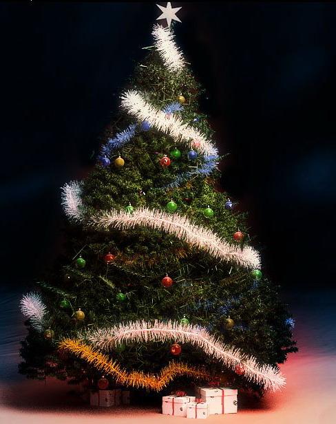 rbol de Navidad 3D Model DownloadFree 3D Models Download