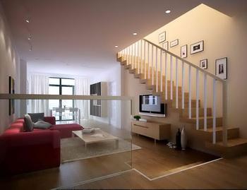 Duplex cuarto sencillo vida caliente 3D Model Download