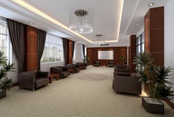 Recepcin de la Oficina sala 3D modelo 3D Model Download