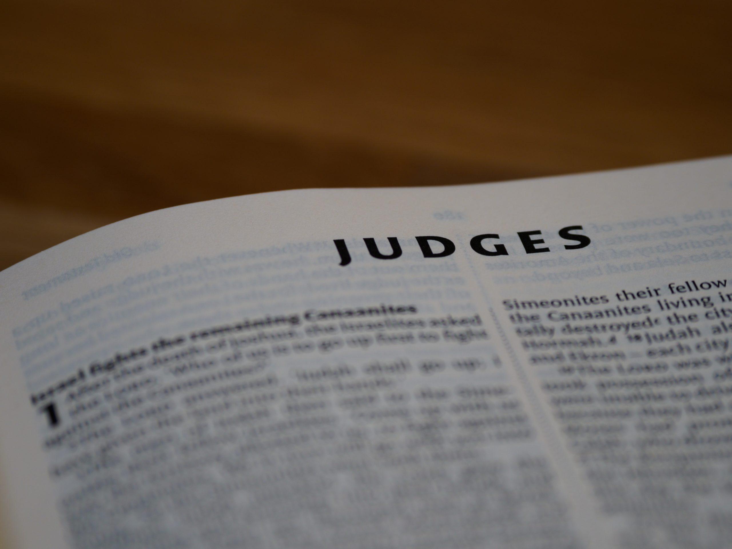 Cuatro Razones Por Las Que Debes Predicar Jueces