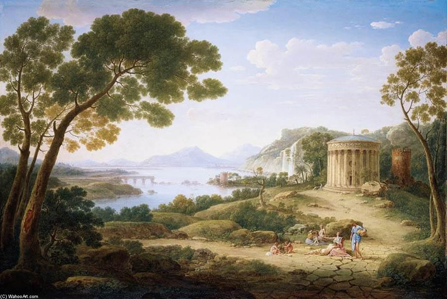 clsica paisaje leo sobre lienzo de Hendrik Frans Van