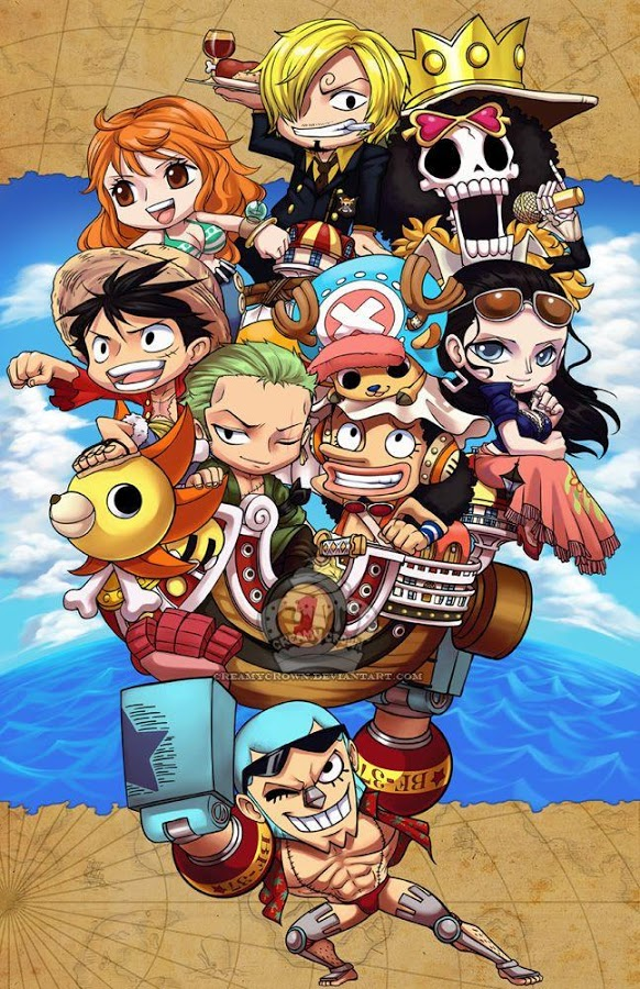 Cute Chopper One Piece Wallpaper Luffy Op Wallpaper Para Android