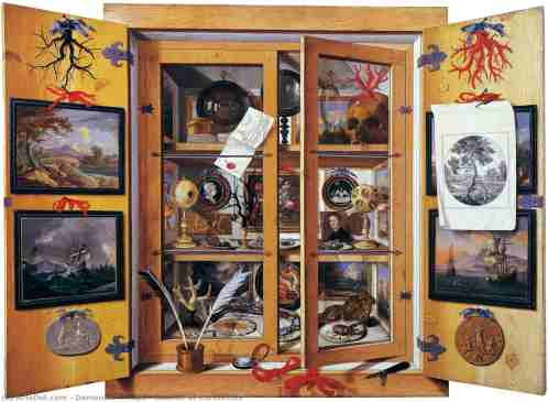Gabinete de curiosidades , 1690 de Domenico Remps (1620-1699) | Reproducciones De Bellas Artes Domenico Remps | ArtsDot.com