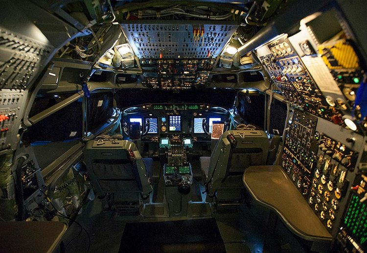 NATO E-3 Sentry AWACS Flight Deck