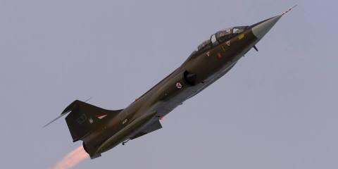 CF-104D ex Fuerza Aérea Real de Noruega