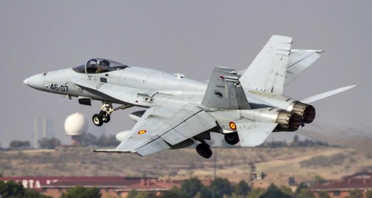 F-18 Ejercito del Aire