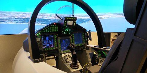 Indra Simulador Eurofighter