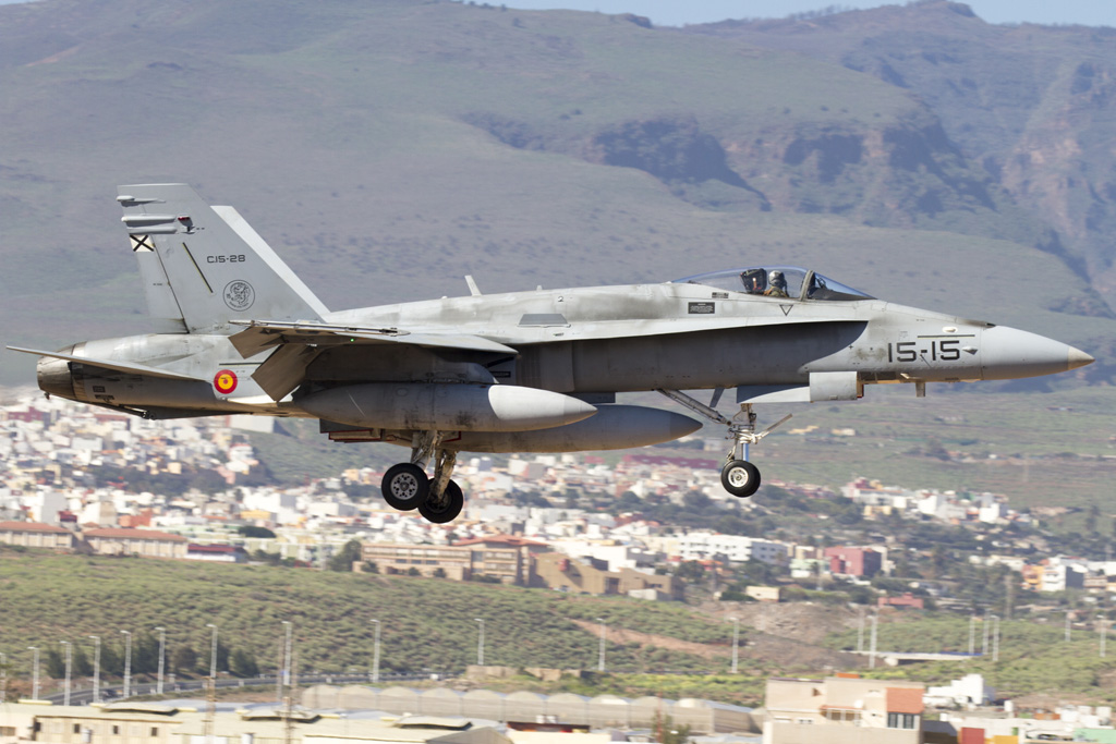 EF-18 Hornet Ejercito del Aire