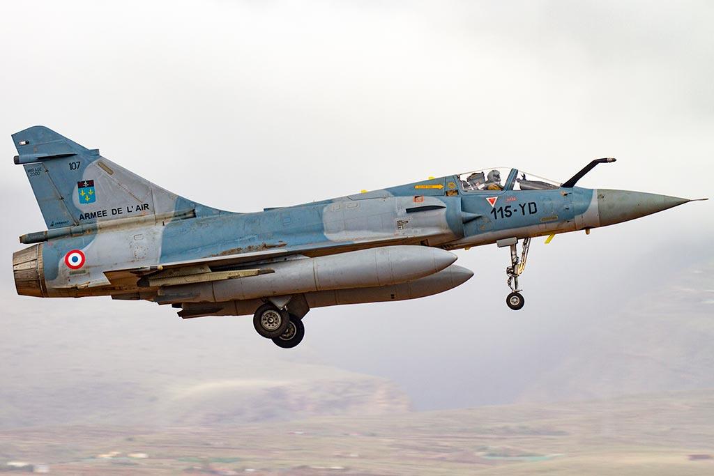 Mirage 2000 de l'Armée de l'Air