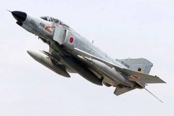 F-4 Phantom Ejercito del Aire Japonaise