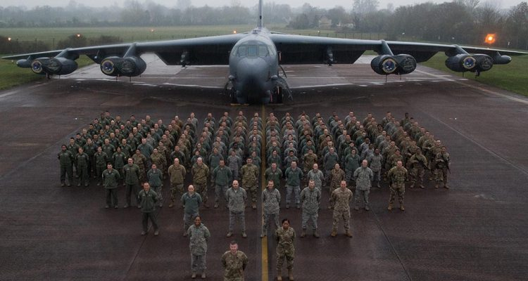 B-52H Stratofotress in Europa
