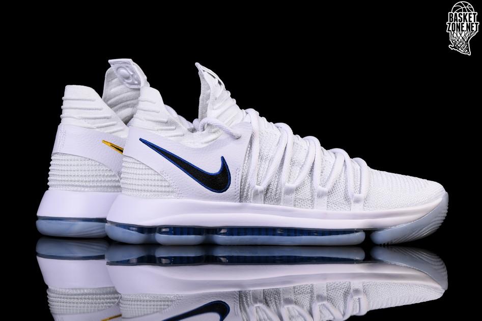 White Kd 10 Zoom Nike