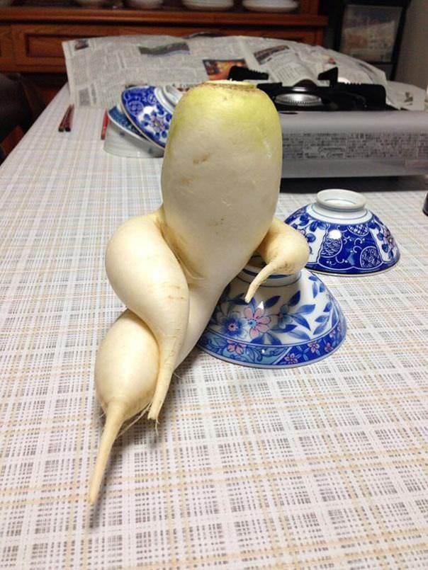 Vegetales raros