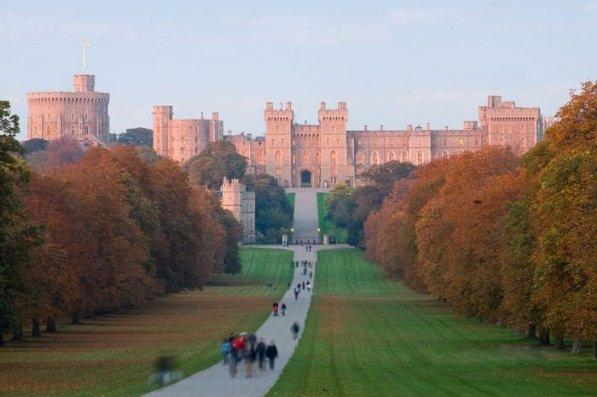 Castillos Medievales Castillo de Windsor, Inglaterra