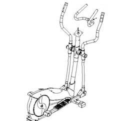 Máquinas de gimnasio y fitness BH Fitness Elíptica Athlon