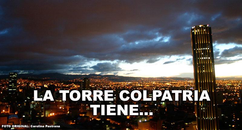 La Torre Colpatria tiene...