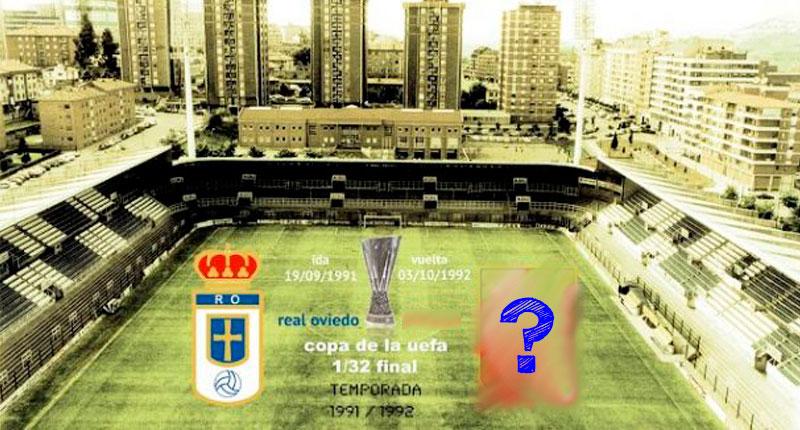 ¿Contra que equipo jugó el Real Oviedo la copa de la UEFA?