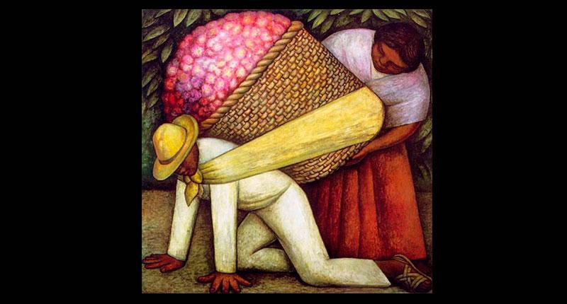 La nacionalidad de Diego Rivera autor de la obra