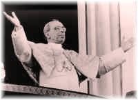 La solidaridad en el corazón y mensajes de los Papas