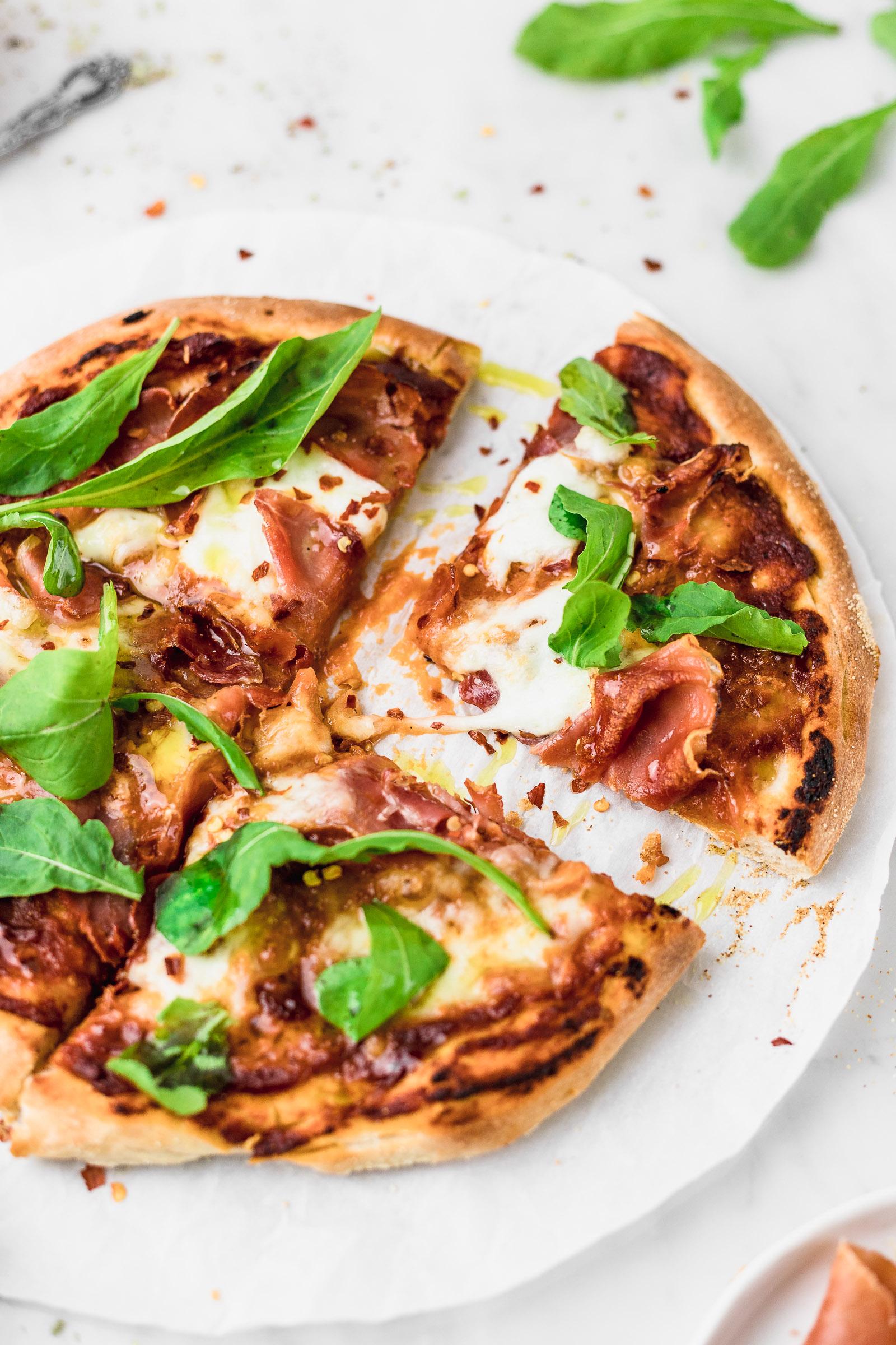 Como hacer masa de pizza muy fina