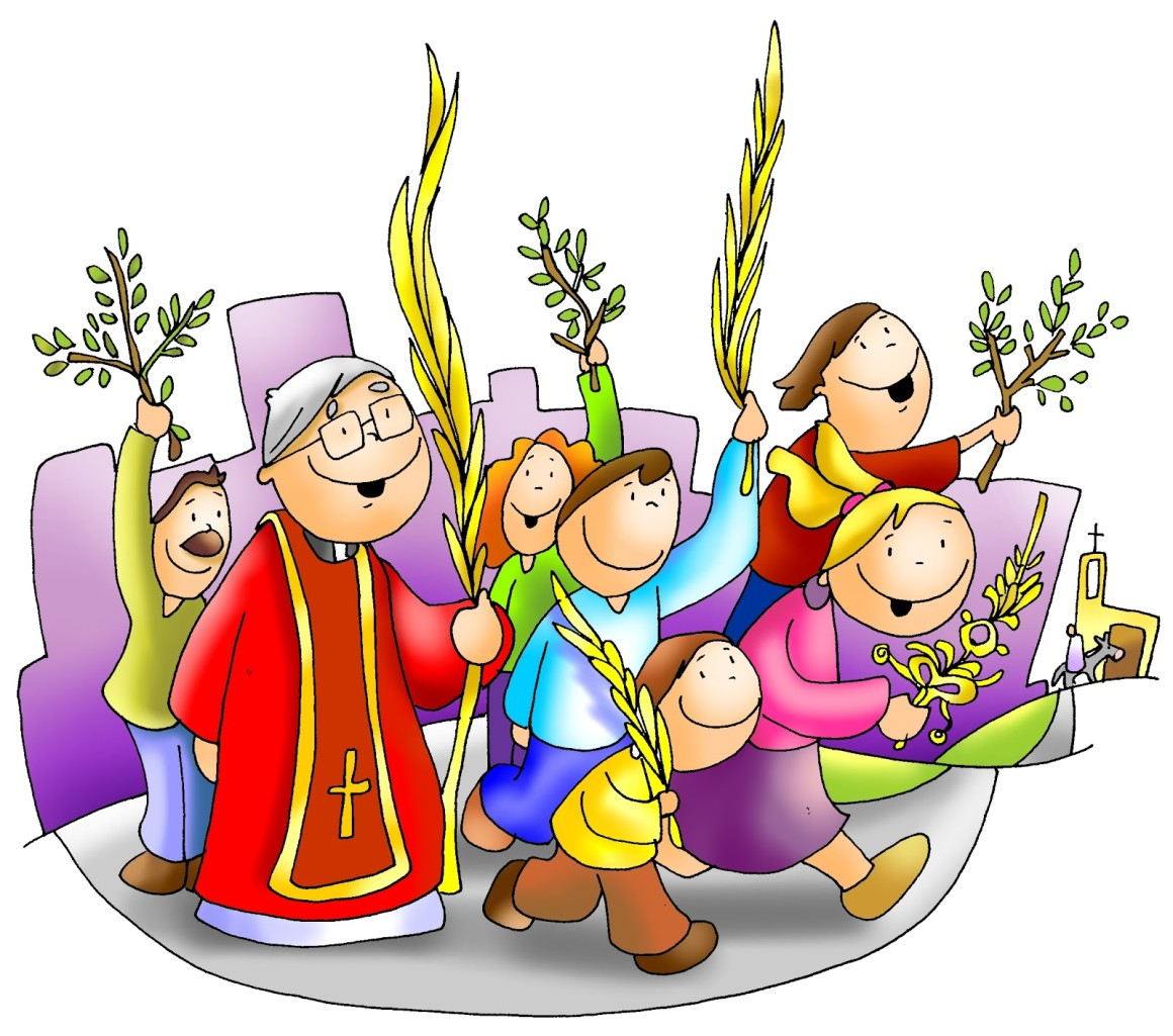 Liturgia: Domingo De Ramos En La Pasión Del Señor – Moniciones ...