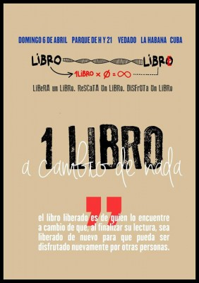 Suelta masiva de libros La Habana