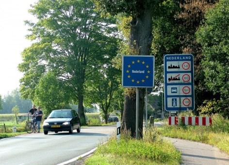 Frontera entre Alemania y Holanda
