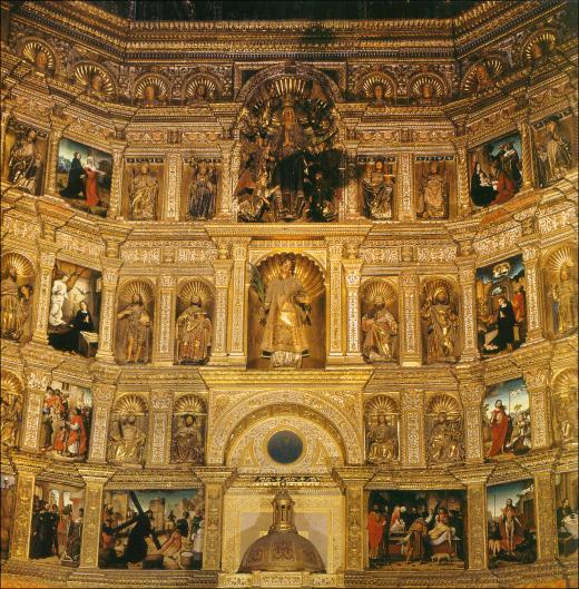 La Crucifixin Juan de Flandes