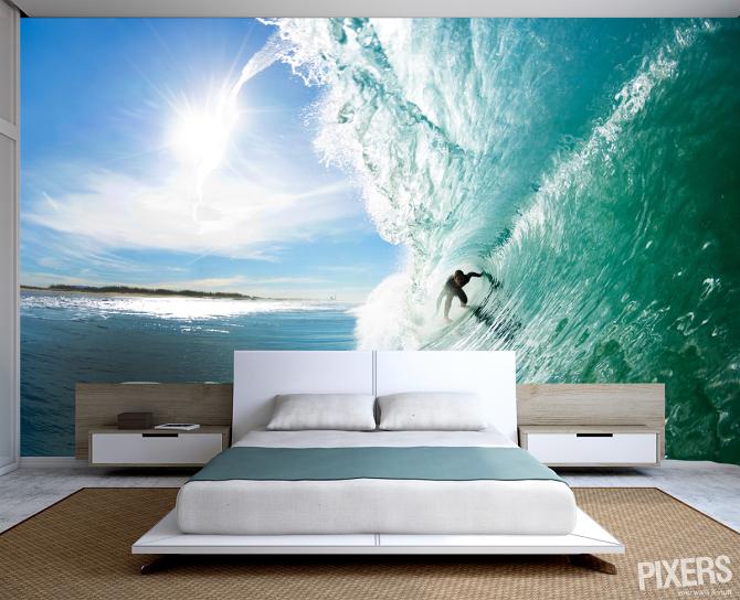 Foto Fotomural con un Surfista de Pixers 283801