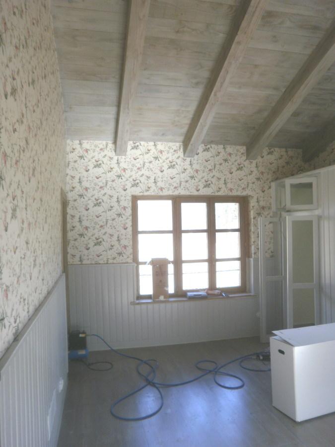 Foto Madera Envejecida techos y Suelos  Empapelado